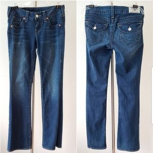 TRUE RELIGION Becky Bootcut Jeans size 29.